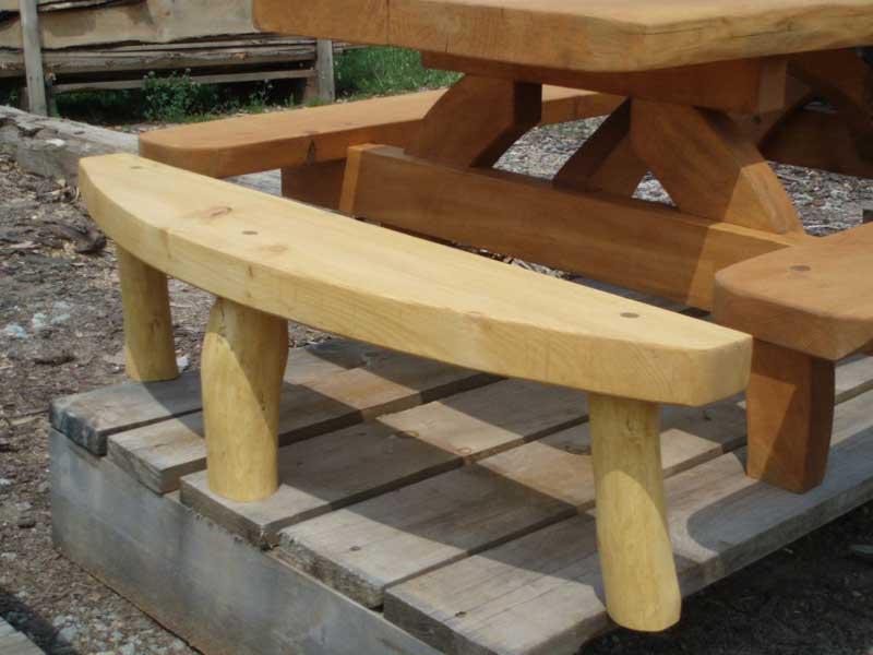 Half Log Bench Plans 28 Images Log Bench Plans Www