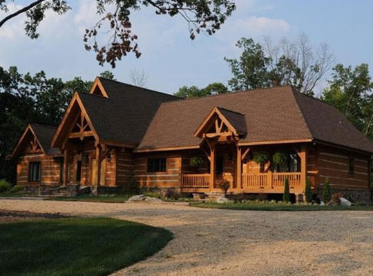 Traditional Dovetail style home