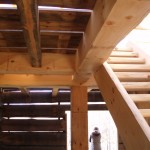 Stairs & Timber Floor
