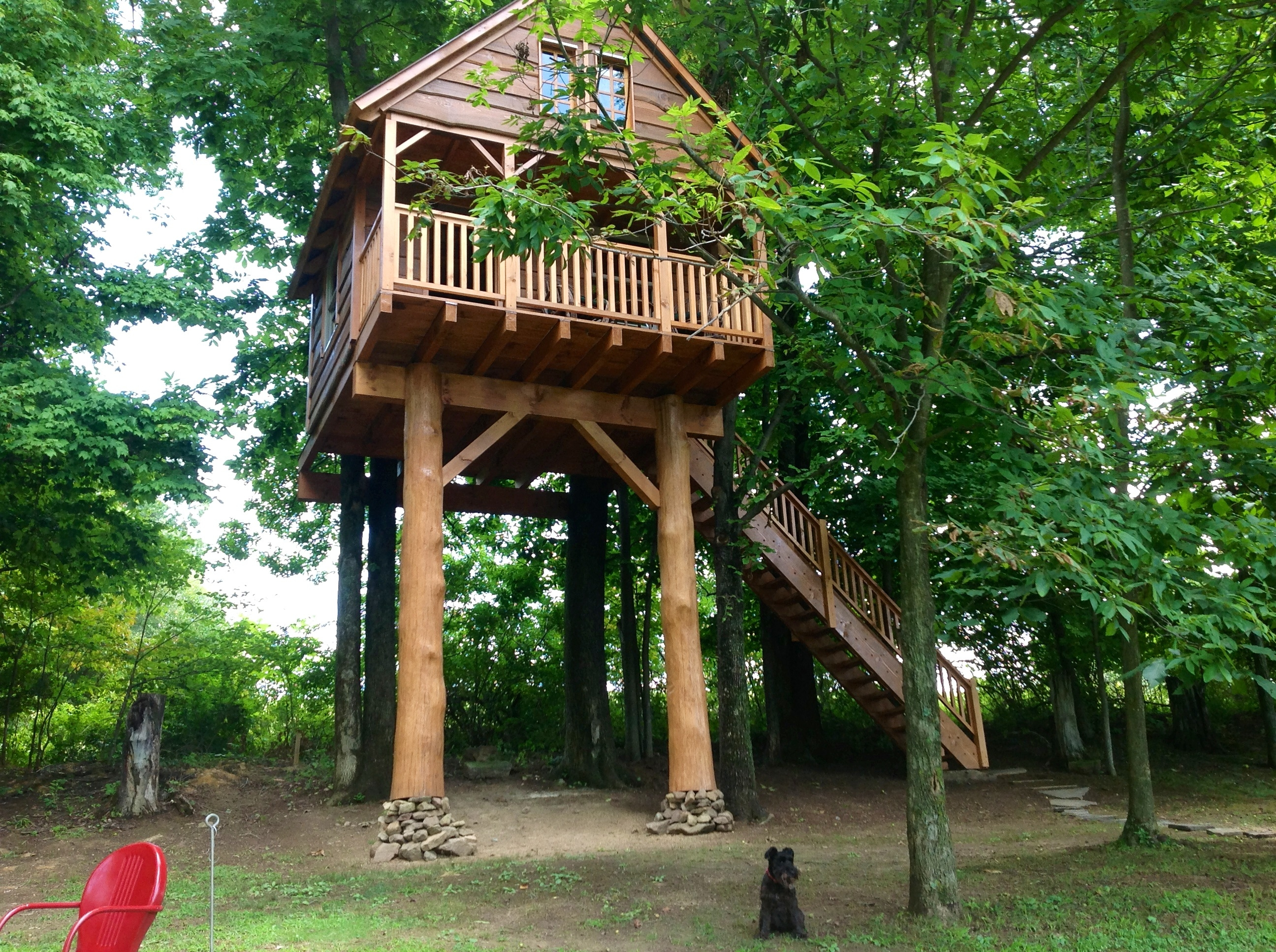 Tamarack Log And Timber Homes 187 Treehouses